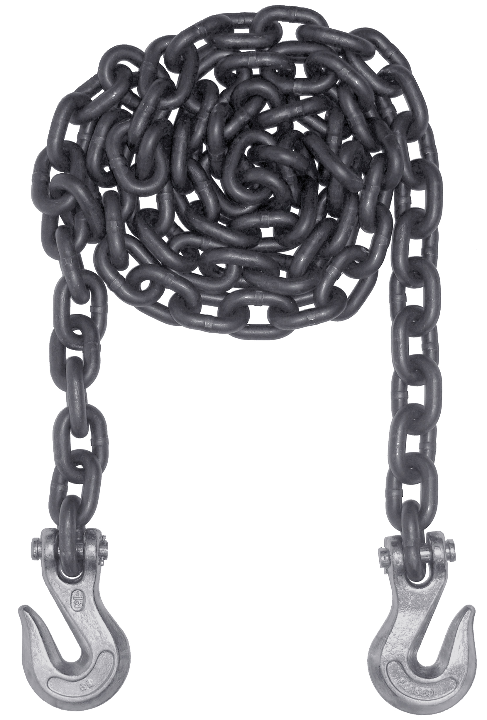 Ts Distributors Tie Down Tow Chain And Hook Assembly