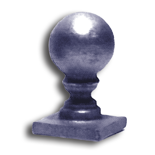 Cast Iron Ball Top Finial