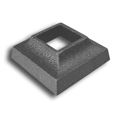 Ts Distributors Cast Iron Square Shoe