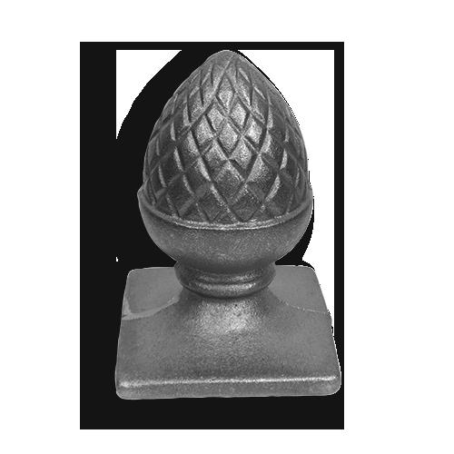 Cast Iron Pineapple Post Cap