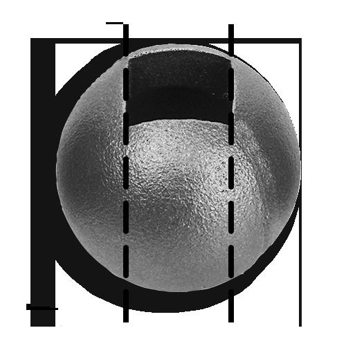 Cast iron castings balls