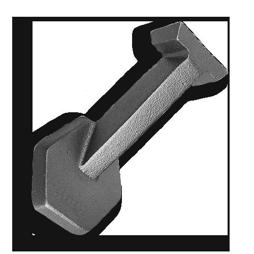 Ts Distributors Cast Iron Handrail Bracket