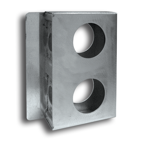 Lock Boxes Aluminum Double Style Weldable Lock Box