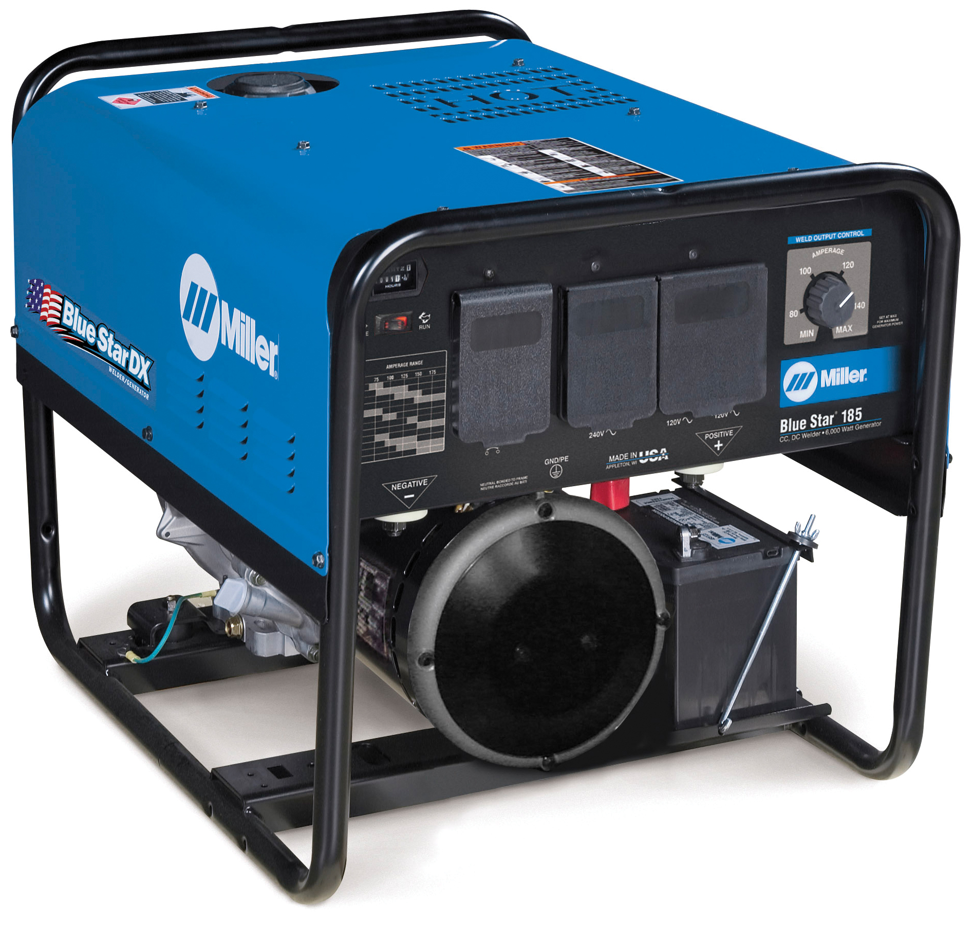 Miller Welding >> Ts Distributors Miller Blue Star 185 Series Generator