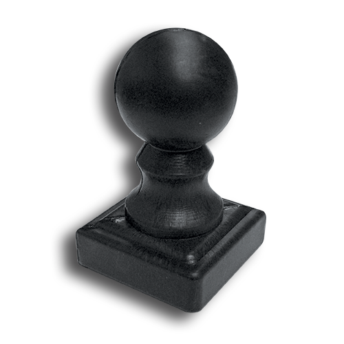 Ts Distributors Plastic Ball Newel Post Cap
