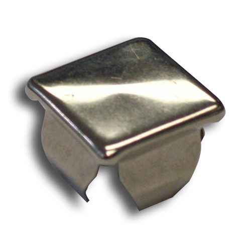 Ts Distributors Nickle Plated Metal Spring Cap