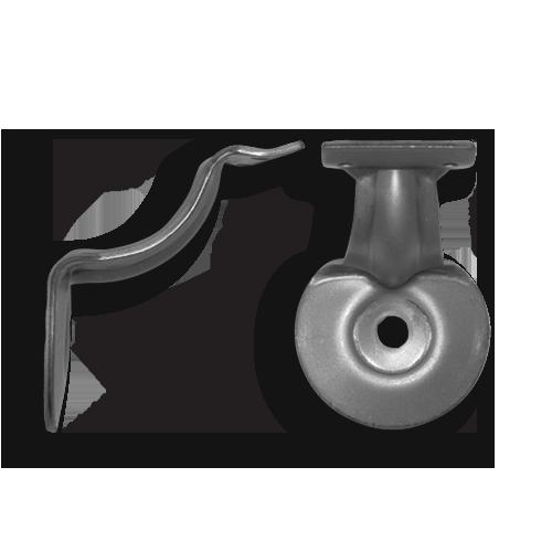 National Hardware V440 Handrail Brackets in Stainless Steel