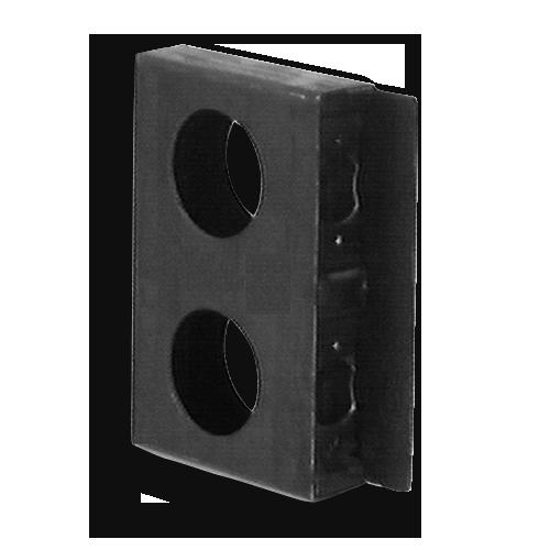 Steel Standard Double Style Weldable Lock Box Lb218d