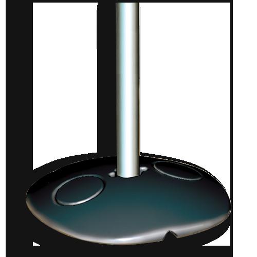 Ts Distributors Base Plate For Cane Bolt