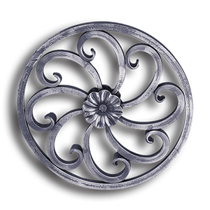 Forged Steel Rosettes