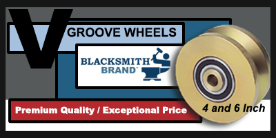 V-Groove Wheels by Blacksmith Brand