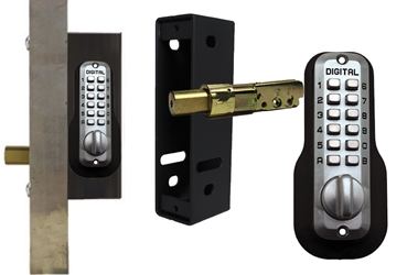 Add-A-Bolt Gate Kit Add A Bolt Gate Box, lockey bolt, mc210dc, keyless bolt, keyless deadbolt, drive in deadbolt, gate frame deadbolt, secure gate deadbolt, controlled gate access, architectural metal, keyless gates, lockey
