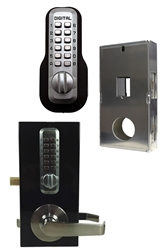 GB210 Plus-L Kit GB210 Plus-L Kit, Lockey Plus L Kit, lockey distributors, steel gate box, gate box wit lever, keyed deadbolt, double side deadbolt lock, door security access, controlled door access, architectural metals, keyless entry, keyed door, best keyed deadlock