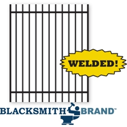 Welded Residential Ornamental Black Extended Top Two Rail Walk Gate welded residential ornamental black extended top two rail walk gate, 2-rail fencing, ornamental walk gate, residential fencing, weldable, walk gates, two rail walk gates, gate posts, gaet hardware, extended pickets, extended top fencing, rackable, ts distributors
