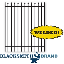Welded Residential Ornamental Black Spear Top Two Rail Walk Gates welded residential ornamental black spear top two rail walk gates, two rail walk gates, weldable walk gates, residential walk gates, ornamental walk gates, spear top walk gates, welded residentail walk gate, custom walk gates, custom gates, fence accessories, post caps, gate posts, gate end posts, blacksmith brand, weldable, ts distributors