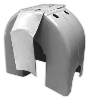 Cantilever Gate Roller Square Nylon