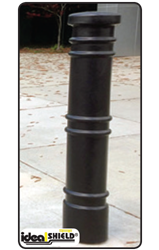 "6""Metro Bumper Post Sleeve Bollards, Bollard Sleeves, Bumpers, Idea Shield, TS Distributors, skyline bumper sleeve, square bollard, smooth bollard, post sleeve, ts distributors"