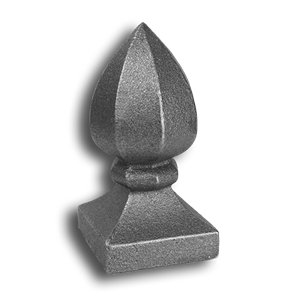 Cast Iron Post Cap cast iron post caps, post caps, metal post caps, fence post caps, finials, metal finials, cast iron finials, cast iron fence finials, fence accessories, cast iron fence accessories, decorative finials, decorative post caps, decorative cast iron post caps, decorative cast iron finials