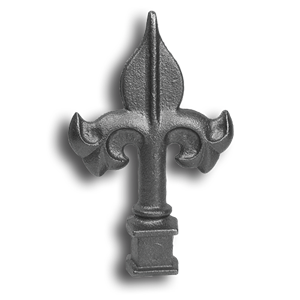 Cast Iron Spear Point Finial