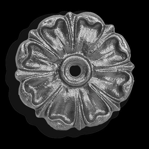 Cast iron rosette 1 7//8″