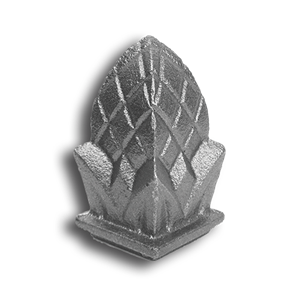 Cast Iron Pineapple Finial