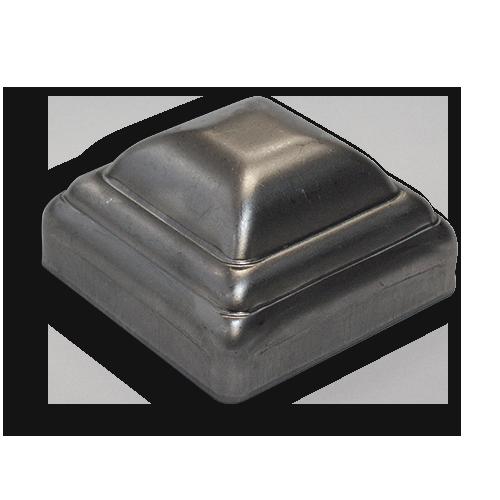Ts distributors pressed steel square post cap