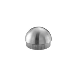 Inox 303 Stainless Steel High Profile Dome Cap stainless steel, tube system, dome cap, high profile