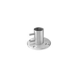 Inox  304 Stainless Steel Newel Post Anchor stainless steel, tube system, newel post anchor, Inox system