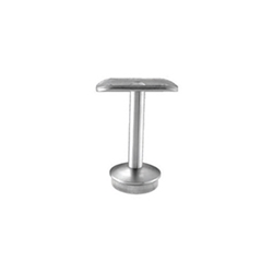 Inox Post Top Handrail Support - Fixed Position 90° stainless steel, tube system, post top, handrail support