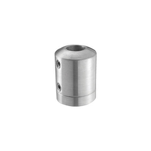 Inox Round Bar Holder - Bar to Flat Surface railing system, round bar holder, bar to flat surface