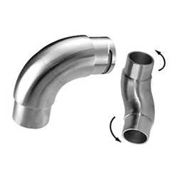 Inox Articulated Elbow stainless steel, tube system, articulated elbow, Inox