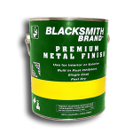 Blacksmith Brand Paint For Galvanized Metal and Aluminum blacksmith brand, gravity feed HVLP spray gun, Aervoe, heat resistant enamel, spra-tool, metallic finishes, brite galvanized coating, wrought iron, touch up brushes, painters masking tape, paint respirator kit, paint mitt, pipe painter, welding respirator, patina oxidizer, gun metal blue paint, rust arrest, brass coating, acrylic sealer, shop coat primers, paint for galvanized metal, paint for galvanized aluminum, rust inhibitive primer