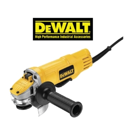 "4-1/2"" Paddle Switch Small Angle Grinder Paddle switch small angle grinder, heavy duty grinder, DEWALT, paddle switch, small angle grinder, angle grinder, grinders, equipment and power tools, side grinder, disk grinder, handheld tool, polishing tool, cutting tool, metal working, ts distributors"