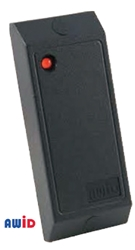 Proximity Card Compact Reader AWID, DOORKING, WIEGAND Interface, PROXIMITY CARD READER, Short Range Proximity Reader